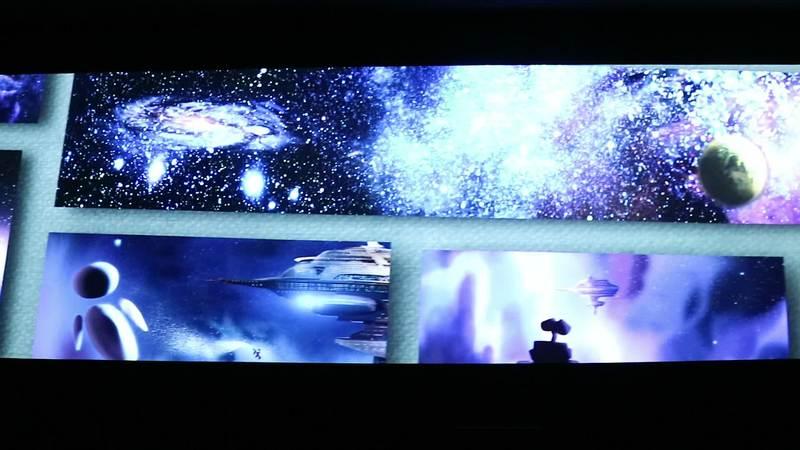 皮克斯30周年特展-藝術風景