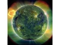 肉眼看不到 太陽內部圖顏色詭譎多變