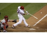 MLB /弗瑞斯兩分砲加持 紅雀啄傷費城人