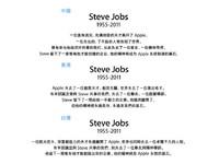 賈伯斯訃聞中文版比拼!中國版本最有FU 台灣最冷感