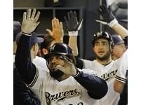 MLB/五局鯨吞六分奠定勝基 釀酒人旗開得勝