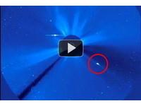 彗星撞太陽 引起日冕物質大噴發?