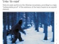 找到雪人棲息地? 西伯利亞發現毛髮腳印