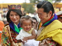 不丹「世上最帥國王」 11月帶嫩妻日本度蜜月