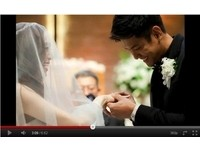 黑人、范范婚禮紀錄影片 「黑白配」網路曝光