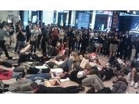 仆街抗議!「佔領台北」挺進101大樓