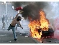 「佔領華爾街」在羅馬濺血 30警察受傷
