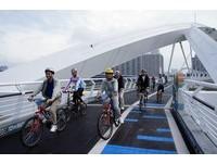 新店陽光橋19日啟用 全台跨距最大鋼拱