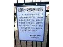 哈爾濱校園爬牆送外賣 警衛:要丟飯碗啦!
