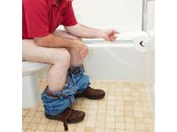 大解完發現沒衛生紙 機智男手機點外賣:麻煩帶紙到男廁