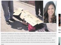 現任總統任內第32位! 菲女記者疑批評官員遭子彈爆頭