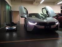 四歲男童的BMW i8超跑 要價近萬元功能超齊全