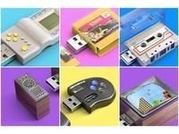 哪個戳中你的回憶?羅馬尼亞製90年代懷舊USB隨身碟