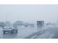 五楊高測得8級風 15時起大客車禁行、小型車速限40公里
