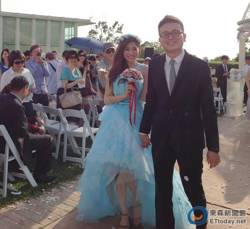 28歲甜心主播嫁檢察官!朱芳君:這是我夢想中的婚禮_03