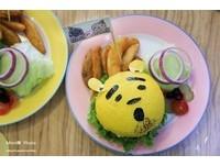 超可愛造型漢堡 台中創意漢堡店吃得到自己做的漢堡