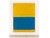 僅有黃藍兩大色塊 羅斯科畫作蘇富比上14億台幣賣出