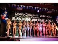 肉體大方秀!澳洲「裸體小姐」大賽墨爾本36歲辣美奪冠