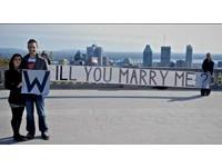 加拿大機師的6年求婚計畫 環遊世界拼出「嫁給我」