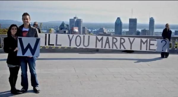 史上最動人的求婚,加拿大機師的求婚故事