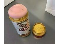 阿公從國外寄來禮物 啤酒罐造型「自慰套」害慘了他