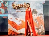 張鈞甯代言金庸《笑傲江湖手機版》  3D高畫質全新體驗