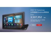 超驚人!OVO電視平台使用總時數突破 350 萬小時