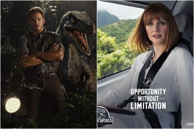 《侏羅紀5》確定2018年上映!兩大主角重磅回歸