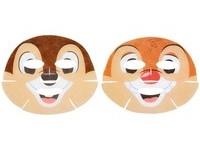 萌到炸!日本迪士尼推出「奇奇與蒂蒂」面膜