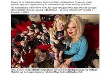 熱愛「恰吉」收藏500個鬼娃 美國媽帶寶貝出門嚇壞人