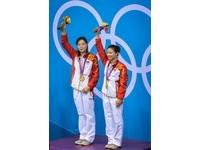 倫敦奧運/女子雙人3米跳水 吳敏霞何姿輕鬆奪金