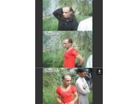 阿富汗變裝男 被警方逼著在V8前脫衣