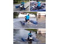 兩棲摩托車現身泰國?從痛苦中醞釀的創意