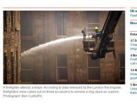 英消防局公開救援荒唐事 「卡鳥鳥」最令人頭痛