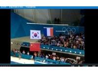 倫敦奧運/孫楊朴泰桓並列亞軍 國旗一下一上惹議