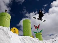 可以吃蘑菇嗎? 紐約真人瑪利歐滑雪場