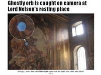300年世界文化遺產 被拍到藍光鬼臉