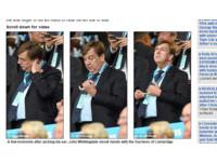 好糗!英國文化大臣「先挖耳屎」 後與凱特王妃握手