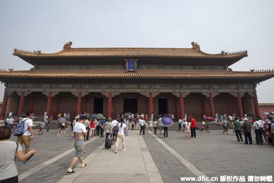 北京故宫年展览文物只及藏品0.5趴 圆明园旁盖新馆