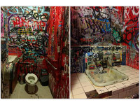 一周只要一千元!紐約人搶著租酒吧「時尚藝術廁所」