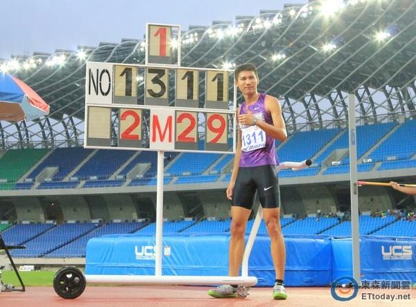 快訊/跳高向俊賢前進奧運! 2米...