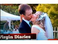 婚禮上才初吻!新婚夫妻吻功像「餵鳥」