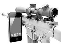 英軍最遠狙殺紀錄 傳狙擊步槍裝iPhone