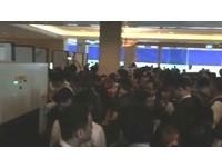 馬習會倒數2個小時,香格里拉大廳媒體塞爆。