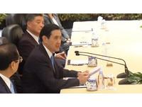 馬習會新加坡登場,馬英九發表談話。