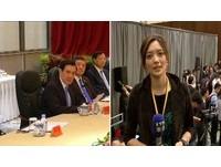 馬英九沒講完,記者被趕出會場斷訊。