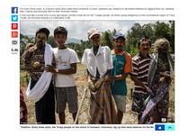 3年一度印尼鬼節 村民帶先人屍骨遊街