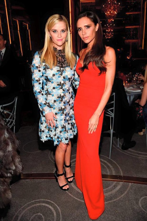 Reese Witherspoon、Victoria Beckham(圖/翻攝自Reese Witherspoon臉書)