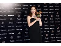 金馬獎/最佳女主角林嘉欣 泛淚喘氣:從沒想過…