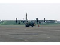近3年助搭載9385人!支援春節運輸 國軍C130屏東待命